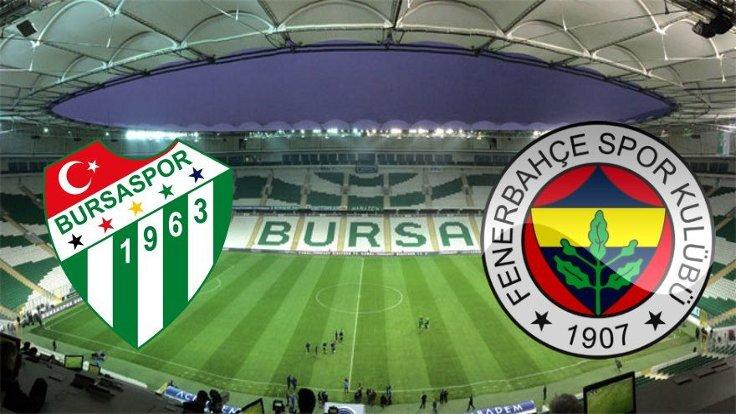 Bursaspor Fenerbahçe